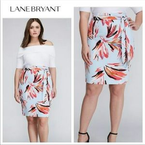 6a34efdaf4590 Floral high waist midi pencil skirt 14 26 28 ...